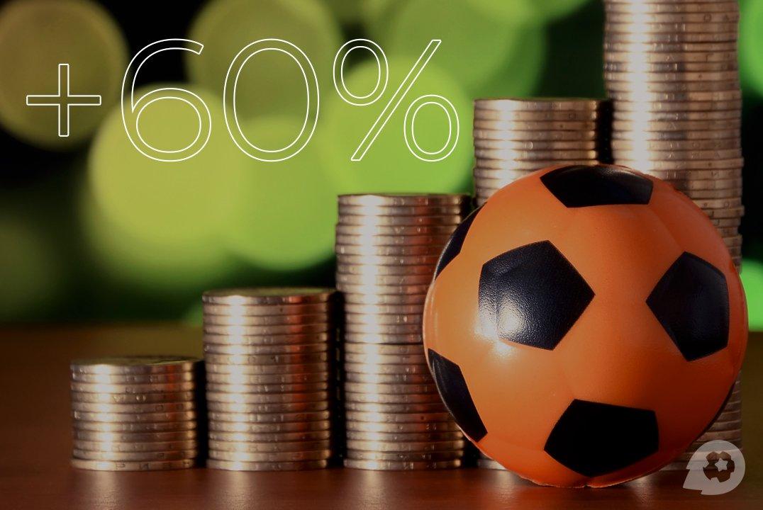 Система ставок «+60%»