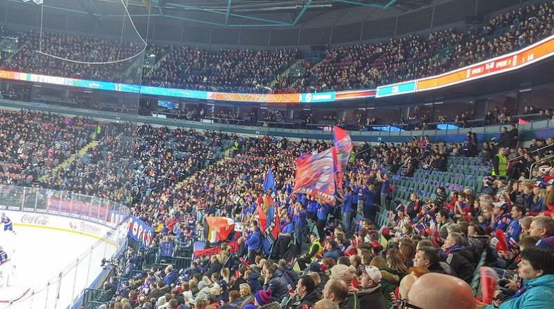 СКА обыграл московское «Динамо» в матче КХЛ