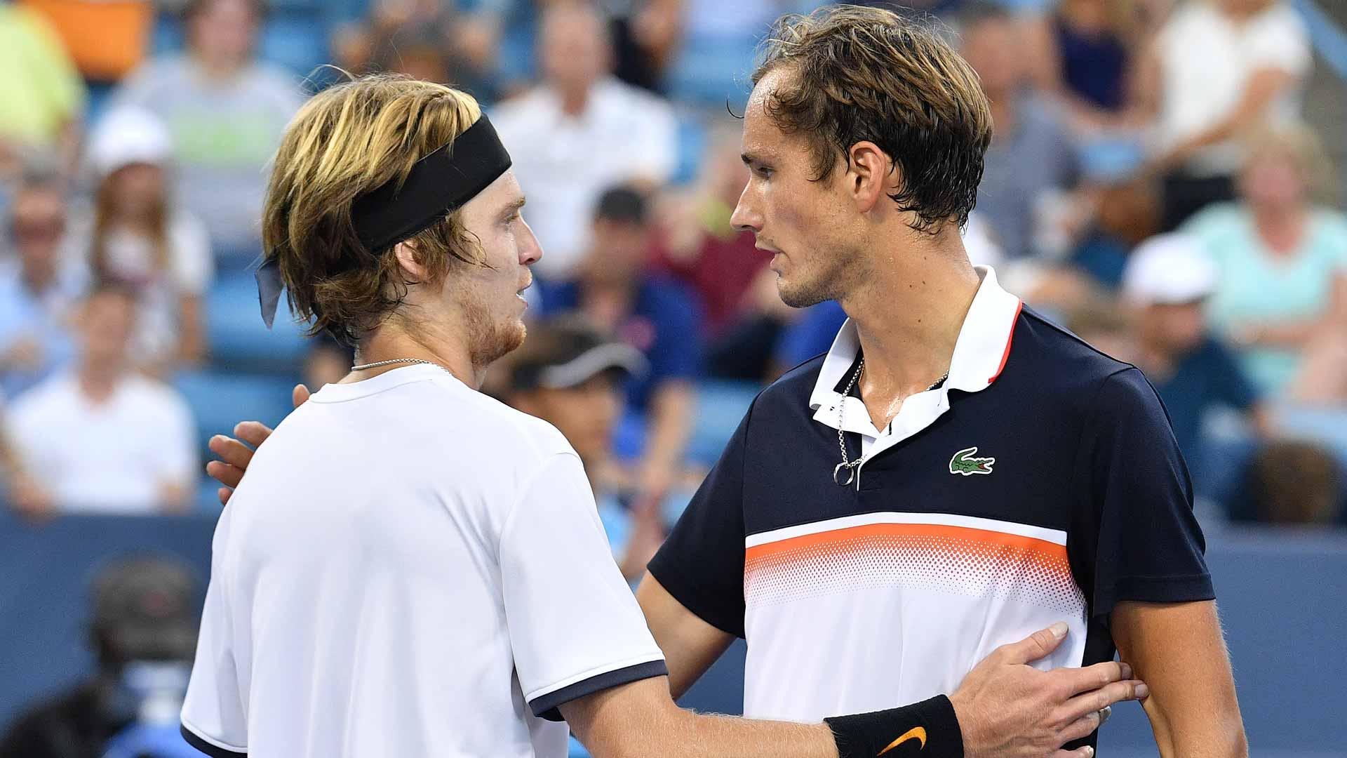 Медведев и Рублев принесли России победу в ATP Cup