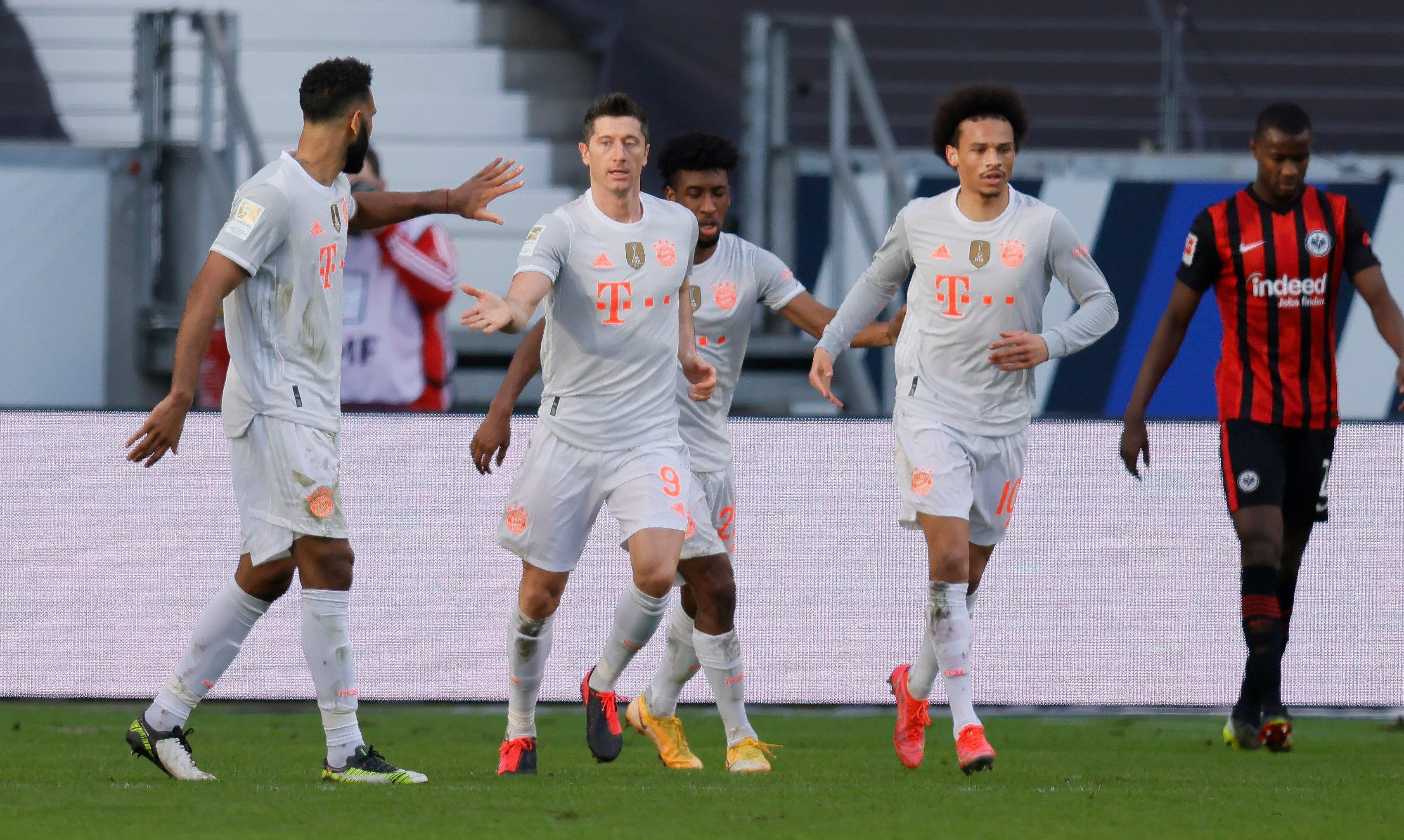«Бавария» уступила «Айнтрахту», потерпев третье поражение в сезоне