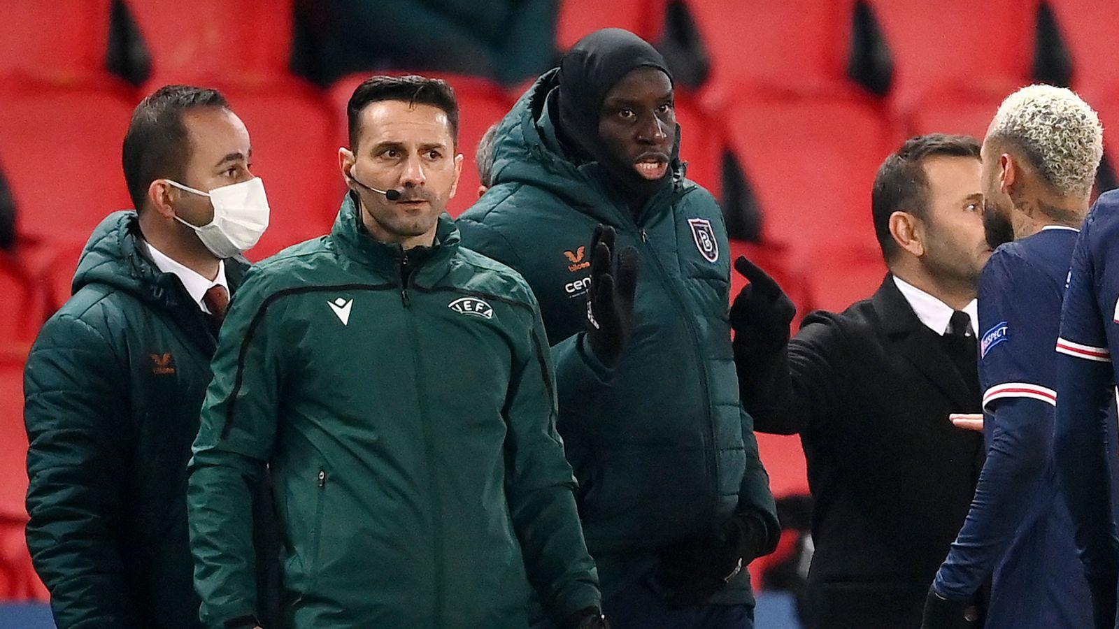 УЕФА открыл дело против арбитров, спровоцировавших расисткий скандал в матче «ПСЖ» – «Истанбул»