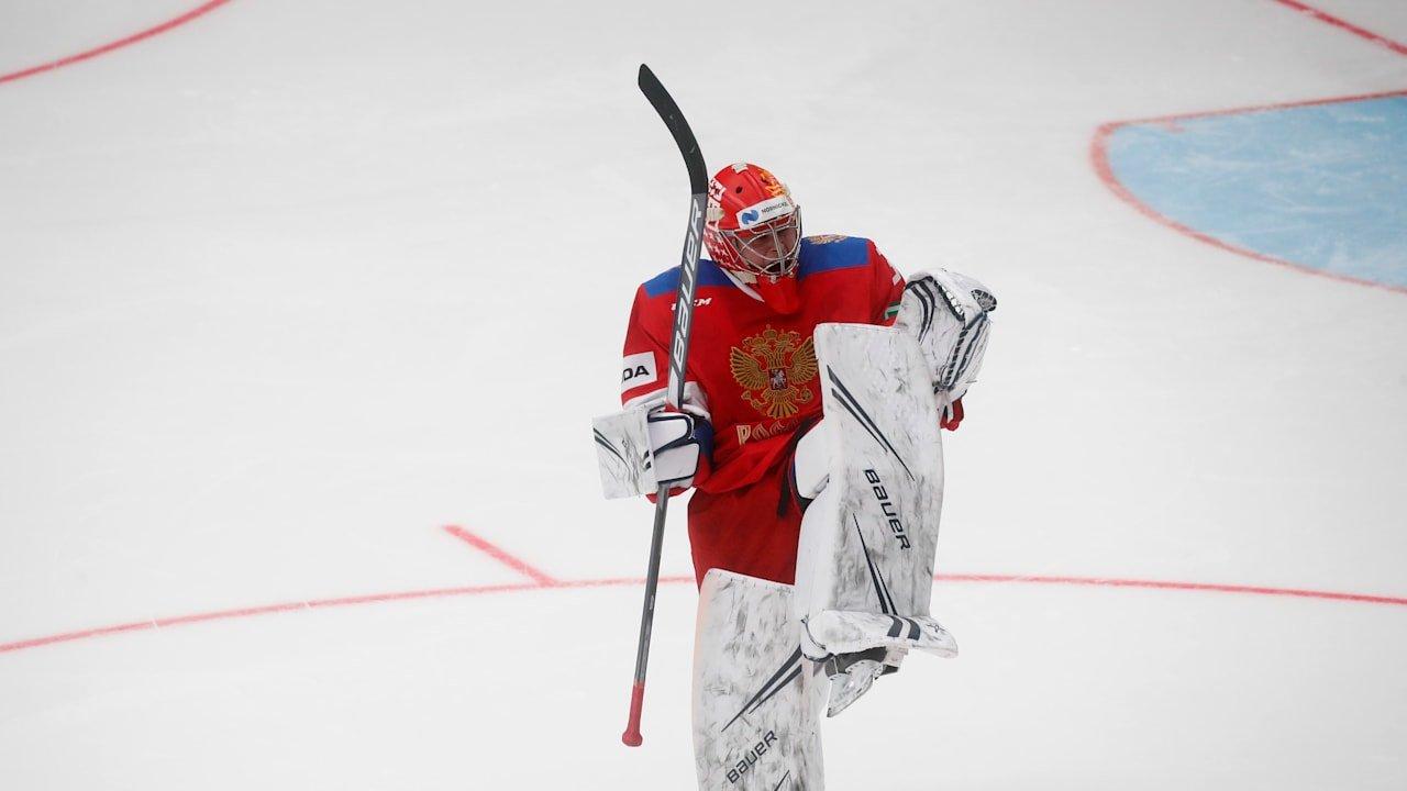 Самонов – в воротах сборной России на матч со Швецией