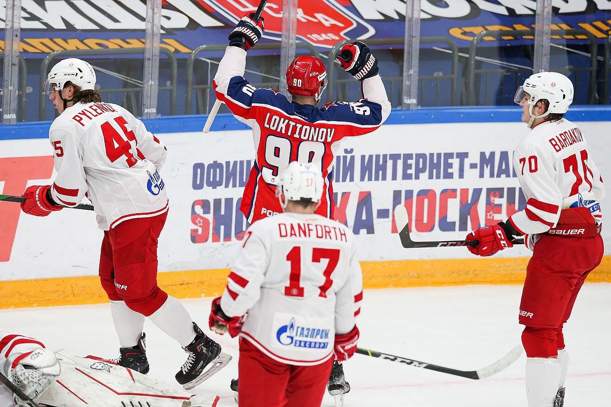 ЦСКА обыграл «Витязь» и в девятый раз стал победителем дивизиона Тарасова