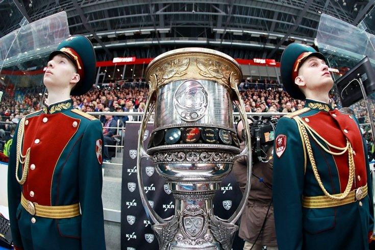 Определились все участники плей-офф КХЛ
