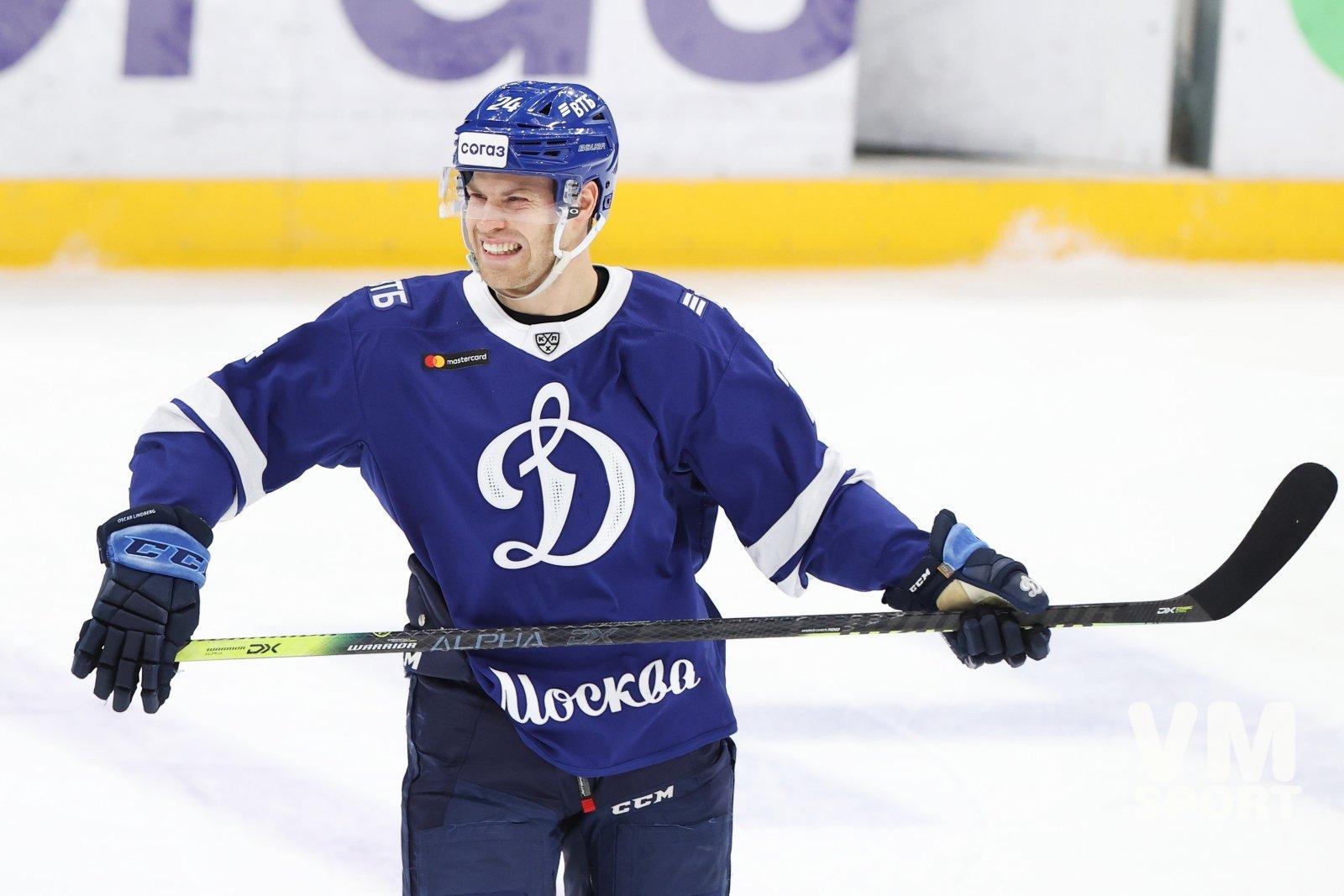 Хоккеист «Динамо» Линдберг может вернуться в Швецию