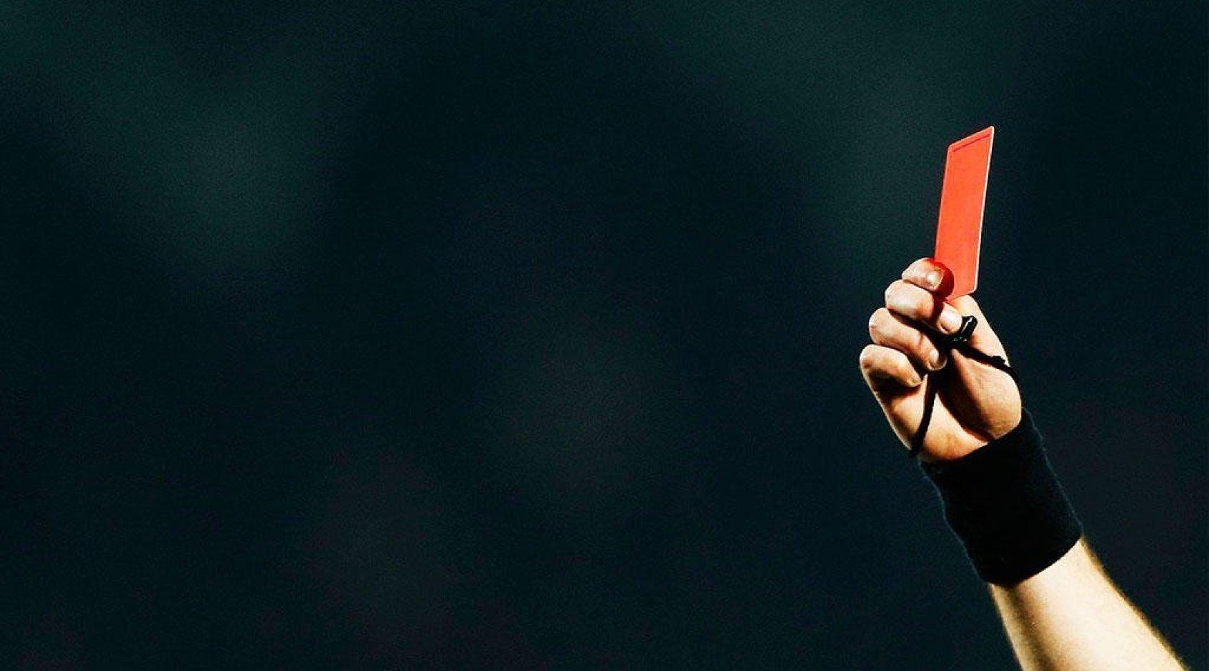 Судьи показали семь красных карточек в матчах 20-го тура РПЛ: это повторение рекорда