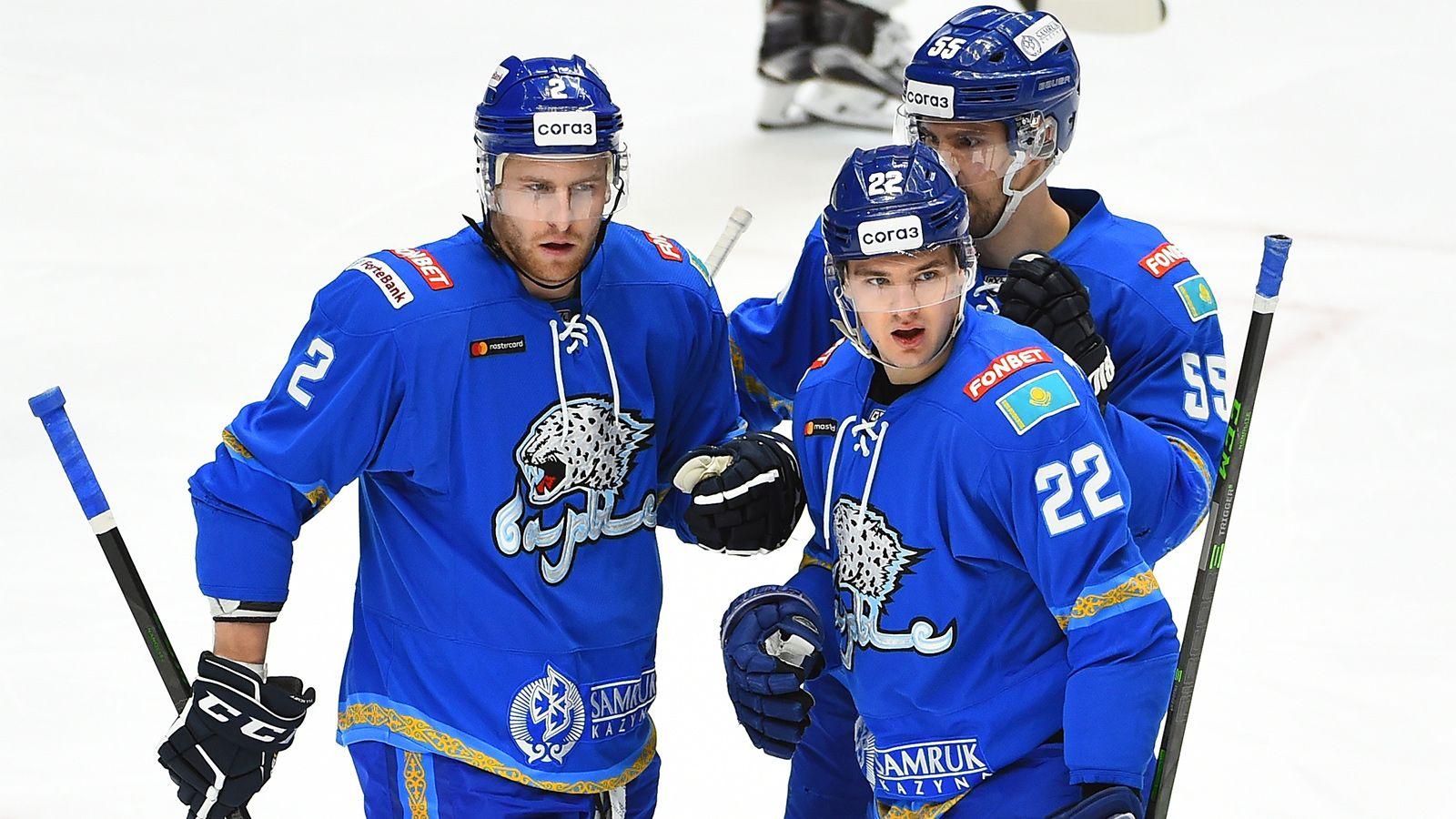 Дубль Михайлиса принес «Барысу» победу над «Авангардом» в овертайме матча КХЛ