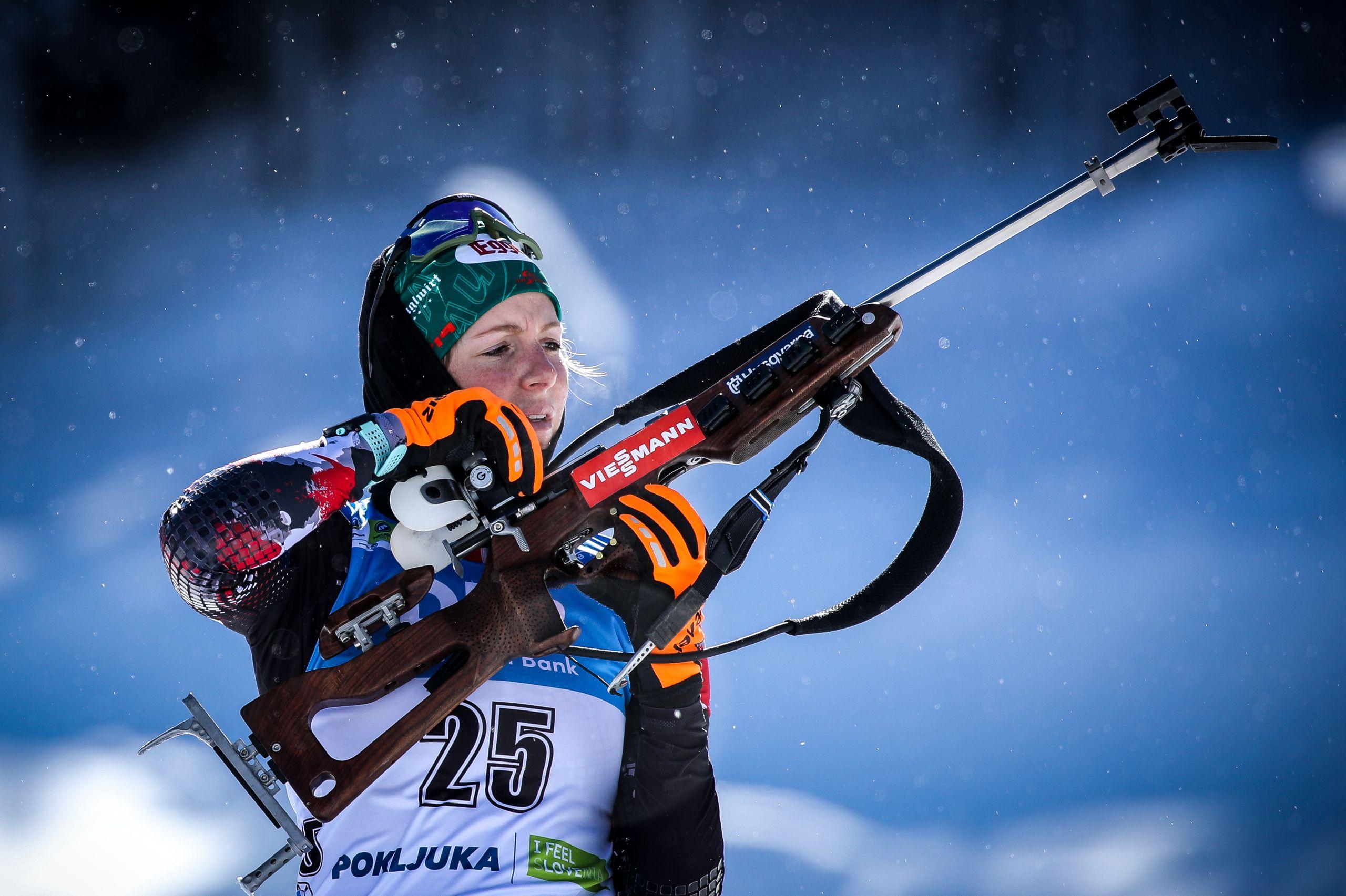 Австрийская биатлонистка Хаузер выиграла масс-старт на чемпионате мира, Миронова – 19-я