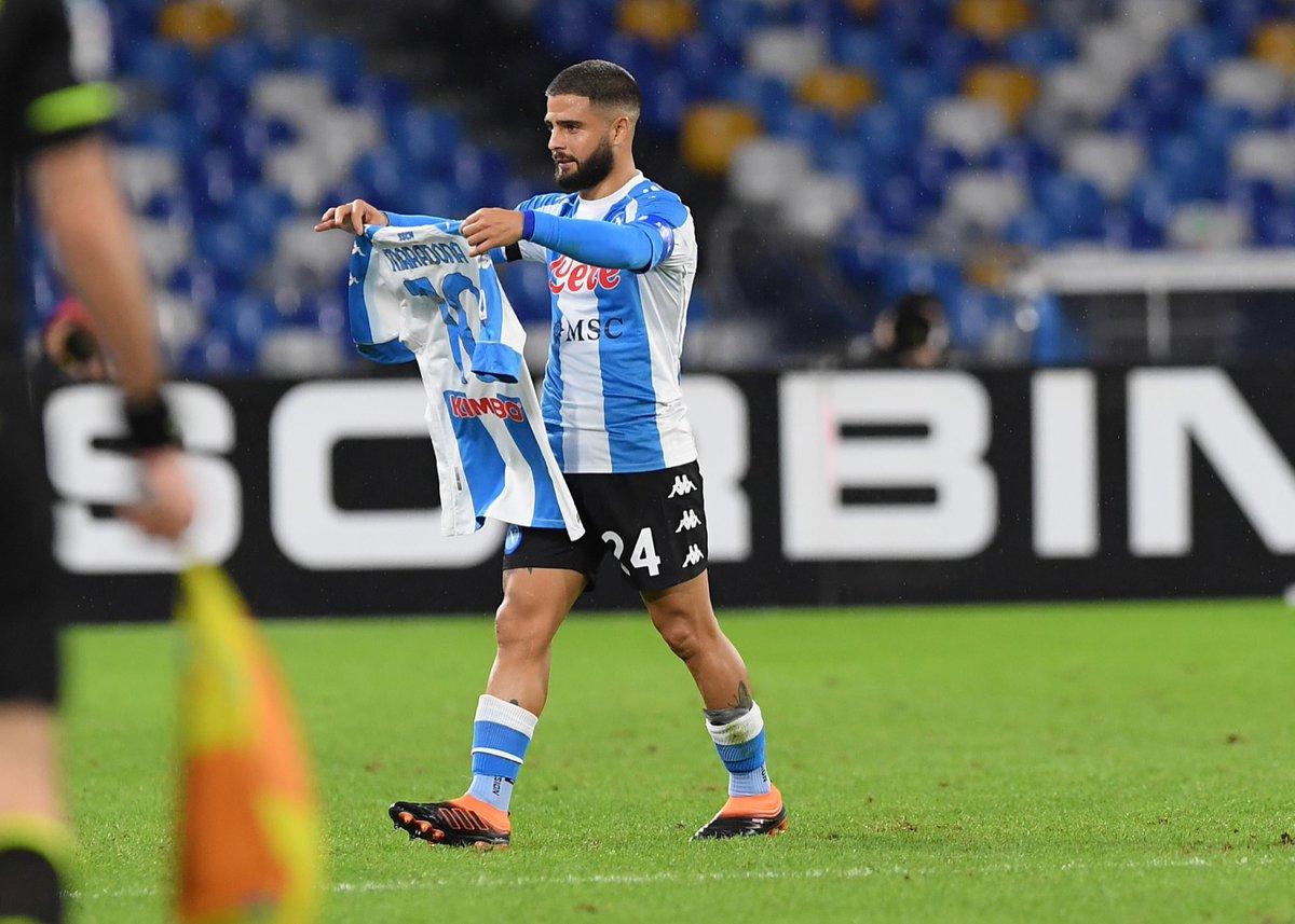 Инсинье забил сотый мяч за «Наполи» во всех турнирах