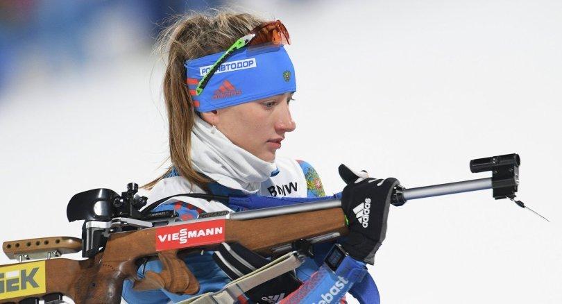 Миронова выступит в индивидуальной гонке на чемпионате мира, несмотря на неудачную стрельбу