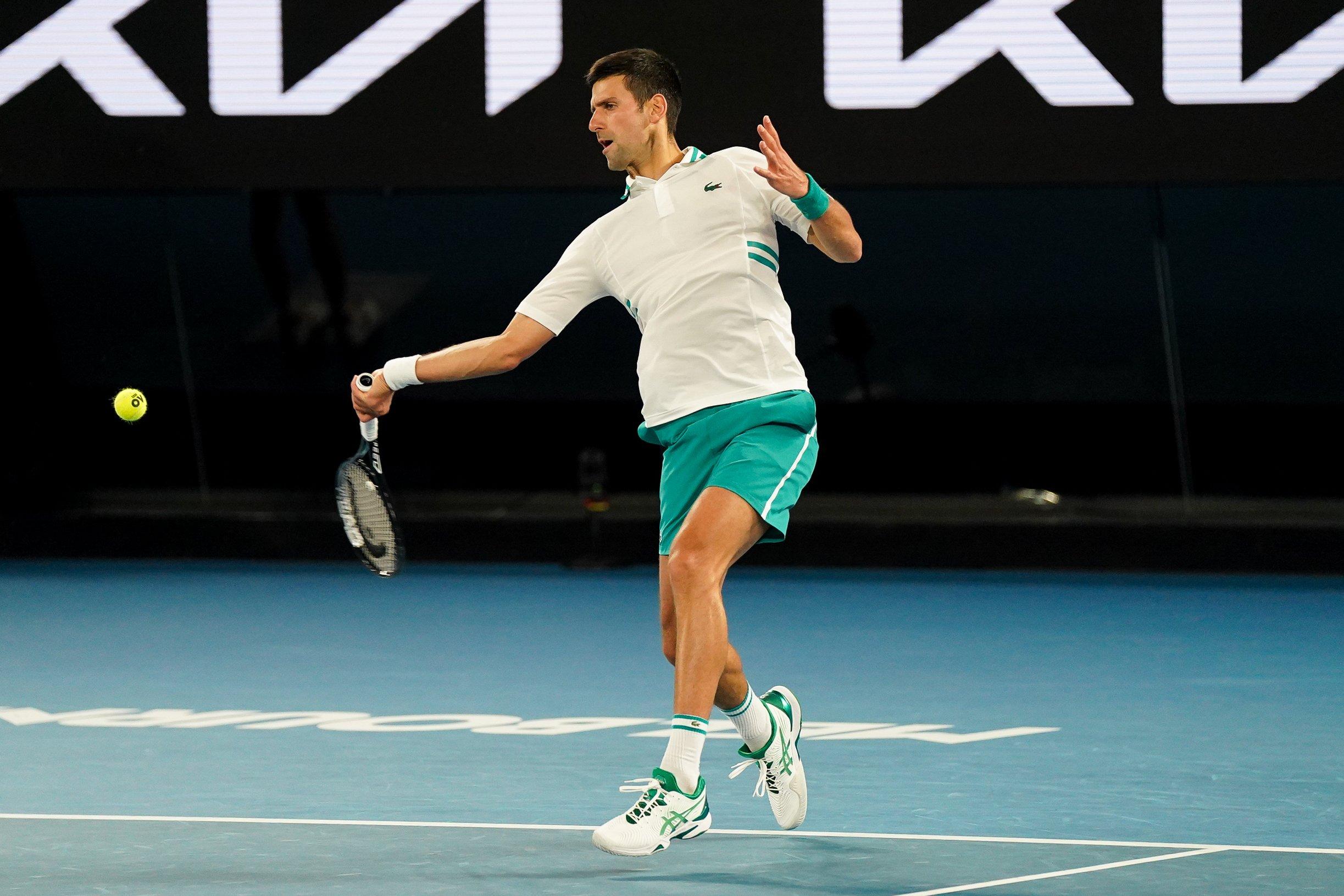 Медведев проиграл Джоковичу в финале Australian Open