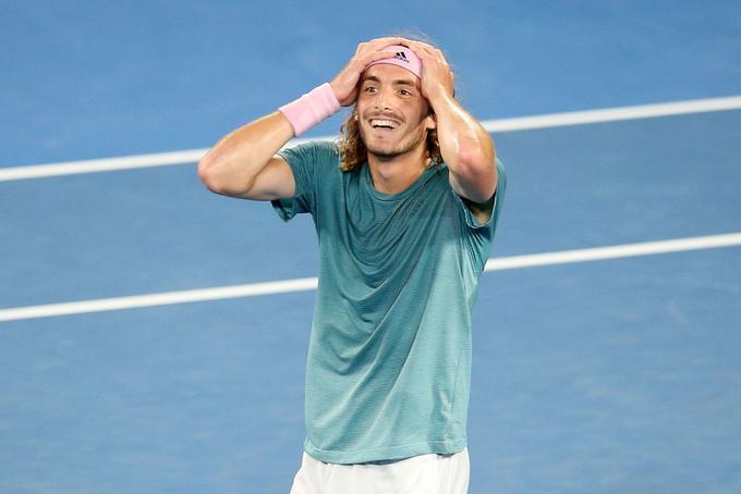 Циципас обыграл Надаля в четвертьфинале Australian Open и сыграет с Медведевым