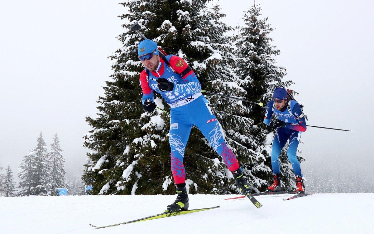 Стал известен состав мужской сборной России на спринт в рамках чемпионата мира