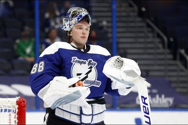 30 сэйвов Василевского помогли «Тампе» обыграть «Чикаго», Сергачев оформил сотый ассист в НХЛ