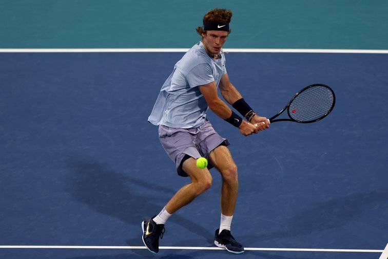 Рублев пробился в третий круг турнира АТР в Майами