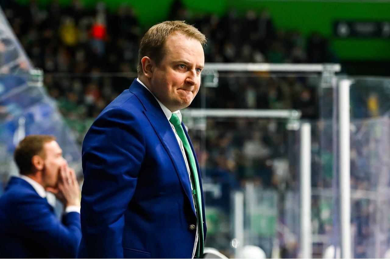 «Салават» не будет увольнять главного тренера Лямсю после неудачи в Кубке Гагарина