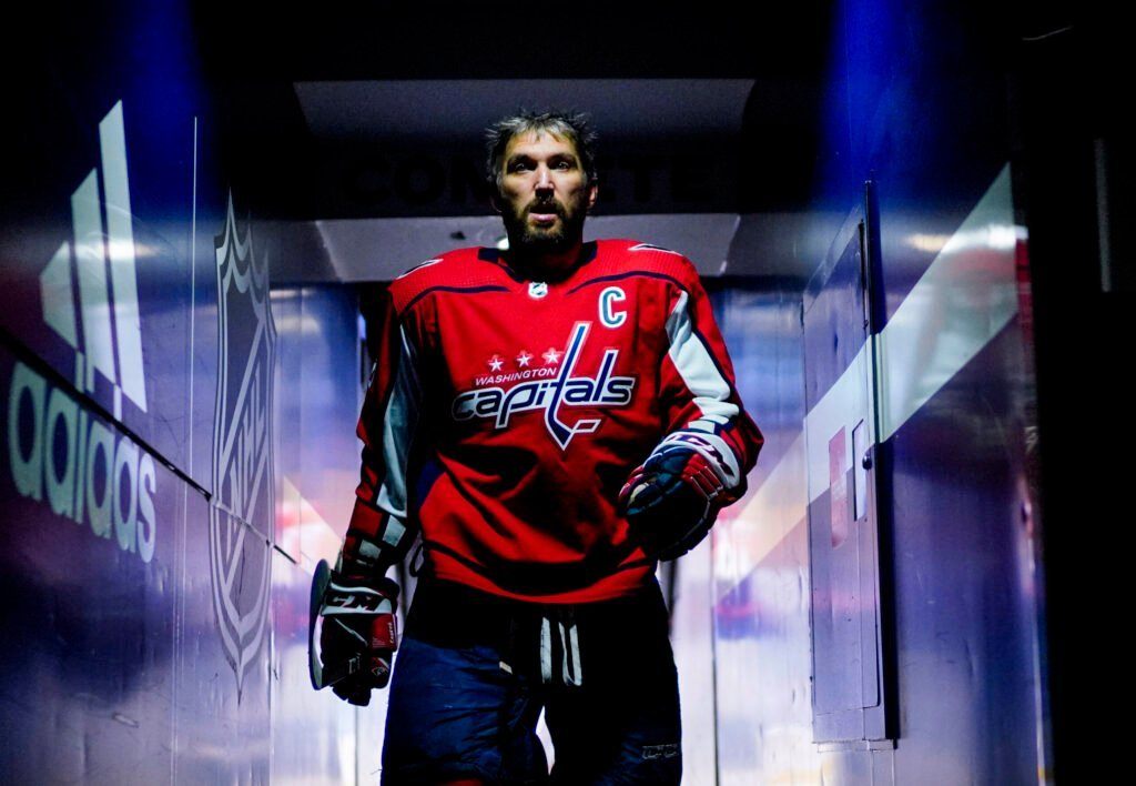 Овечкин стал четвертым в истории НХЛ по количеству матчей с двумя и более голами