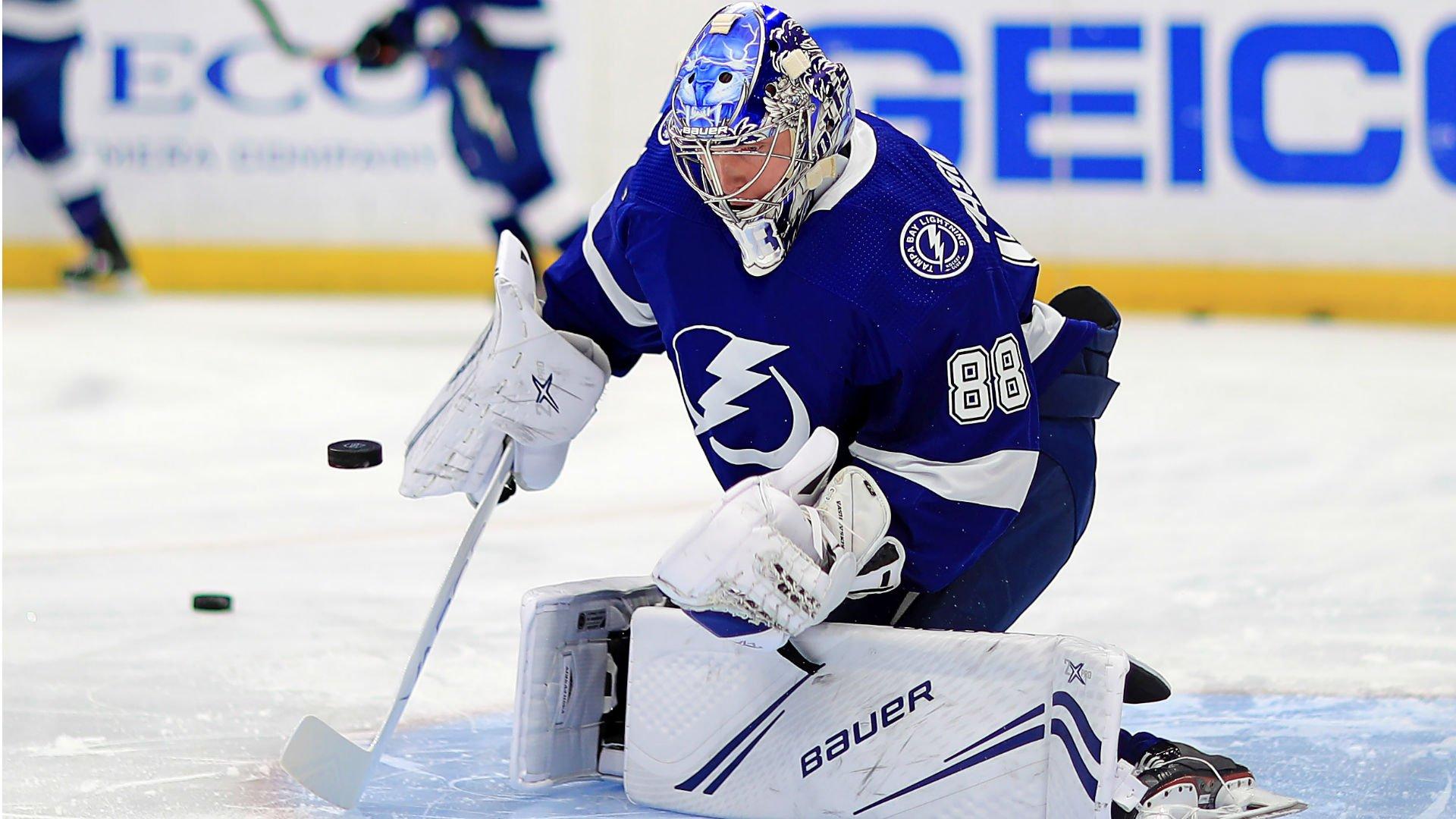 НХЛ признала Василевского первой звездой дня
