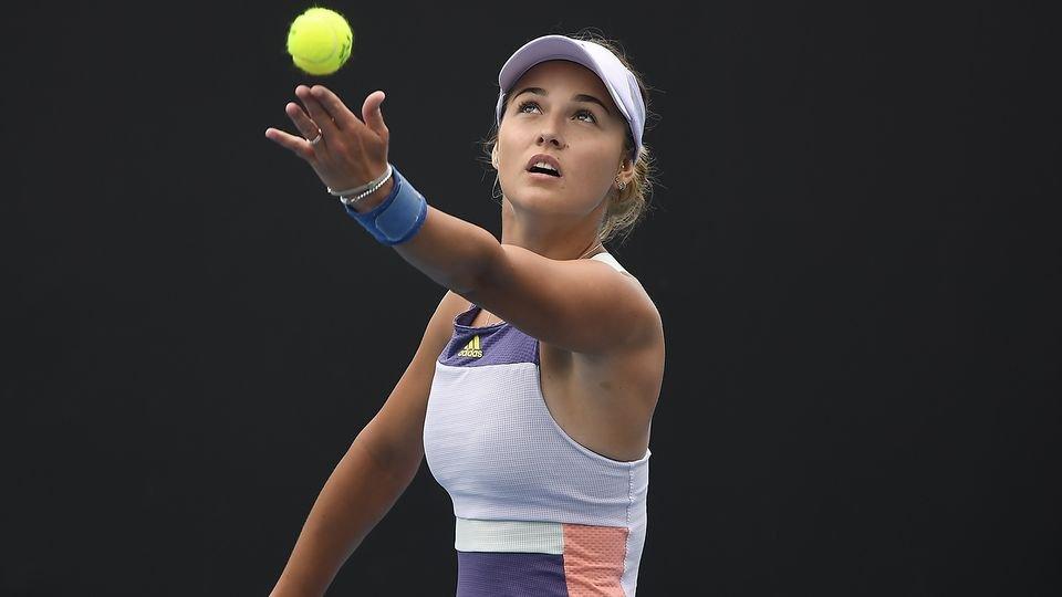 Калинская не смогла пробиться в полуфинал турнира WTA в Монтеррее