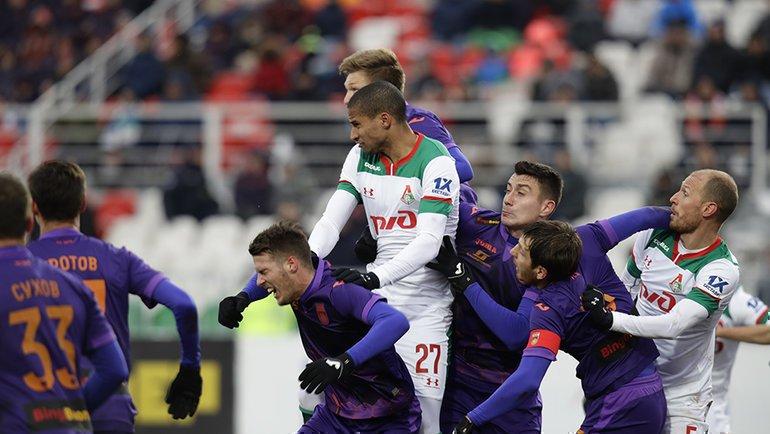 Камано и Пабло выйдут в стартовом составе «Локомотива» на матч с «Уфой»