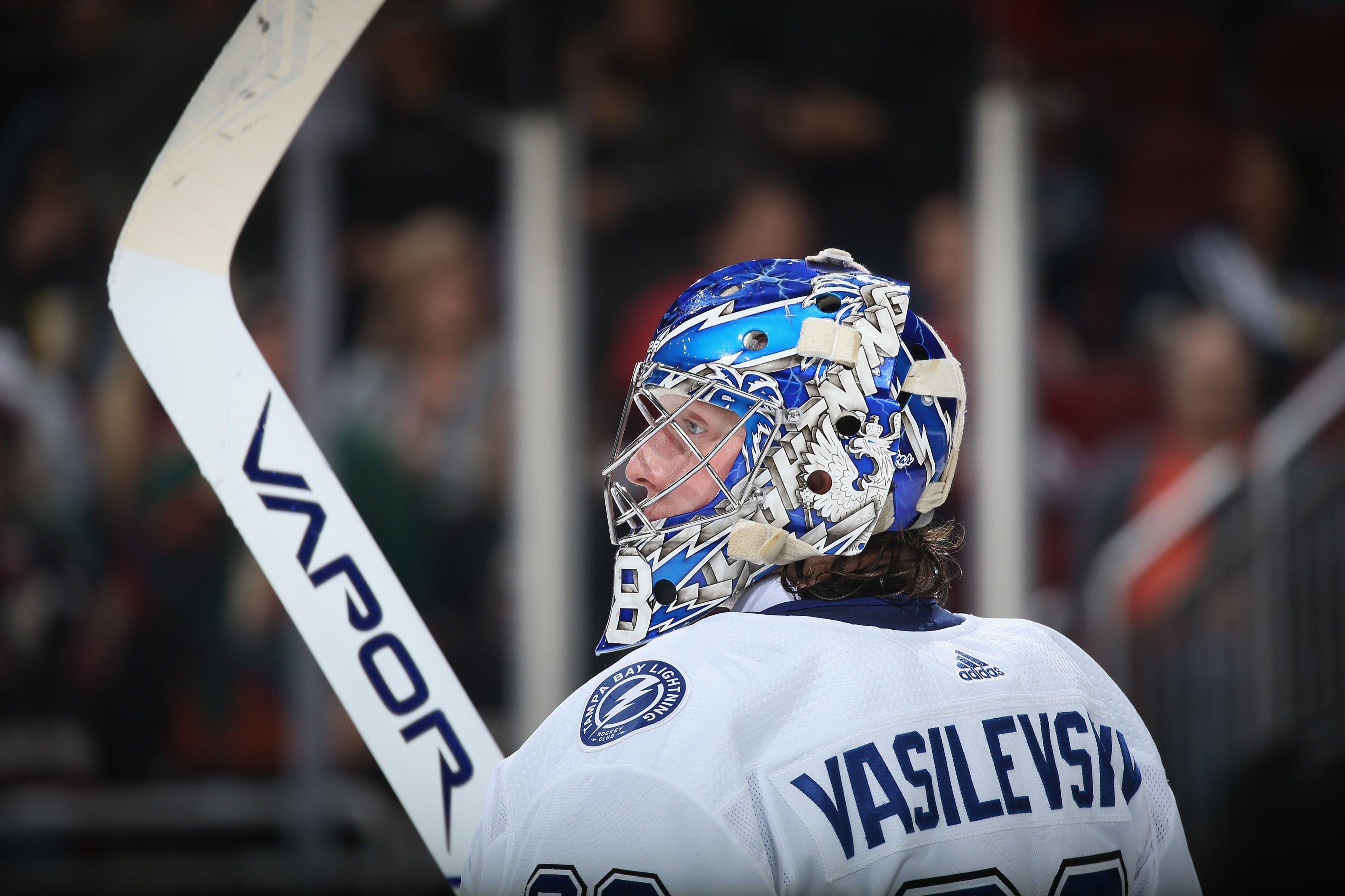 Василевский повторил рекорд по числу побед кряду и установил достижение в НХЛ