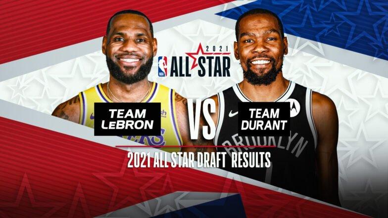 Леброн взял в команду Янниса и Карри на Матч звезд НБА, а Дюрант выбрал Ирвинга и Кавая