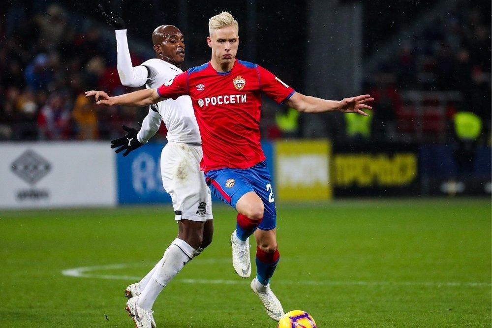 Защитник ЦСКА Магнуссон перенесет операцию после разрыва «ахилла»