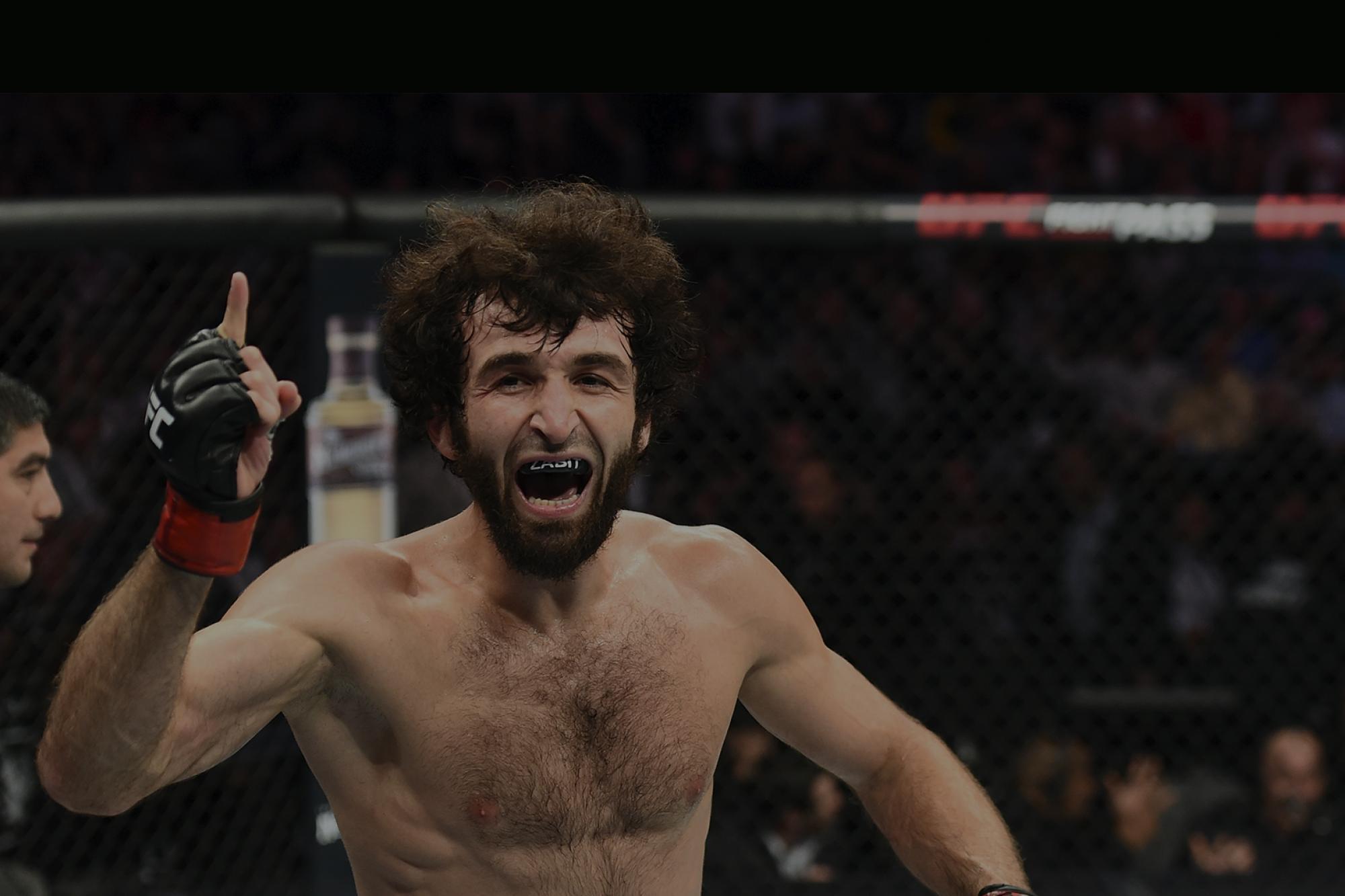 Российский боец UFC Магомедшарипов завершит карьеру