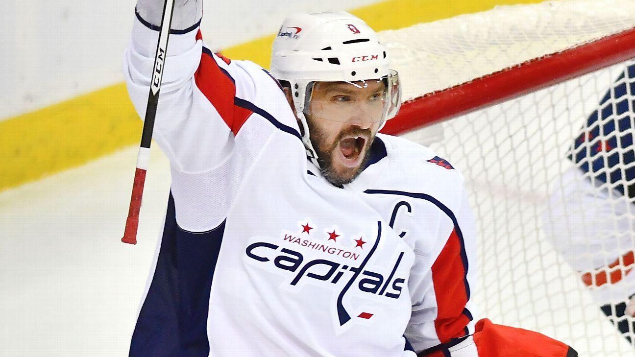 «Вашингтон» стал первой командой в истории НХЛ, которая обыграла соперника все восемь раз в сезоне