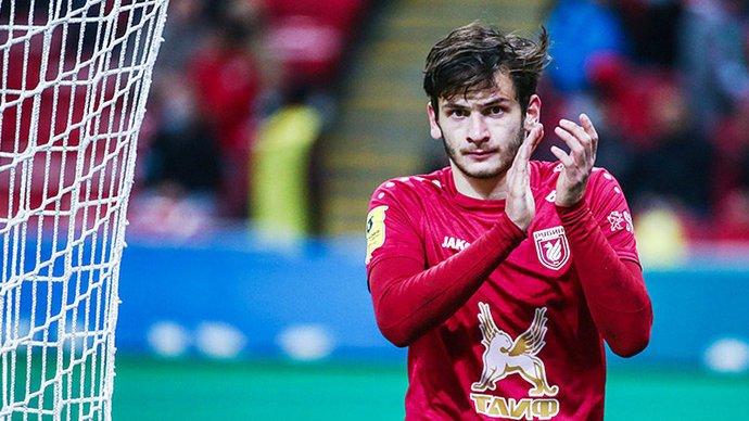 Полузащитник «Рубина» Кварацхелия выбыл до конца сезона