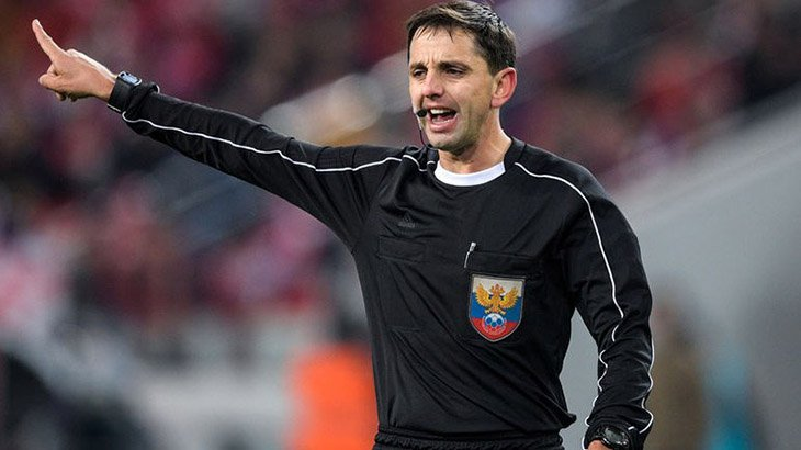 Кукуян назначен главным арбитром на дерби «Спартак» — ЦСКА
