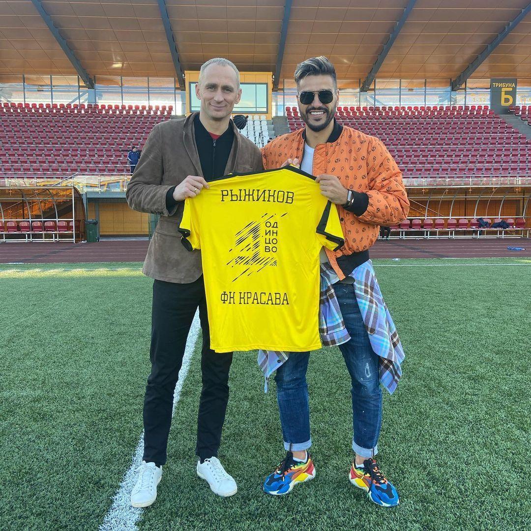 Рыжиков официально возглавил футбольный клуб «Красава»