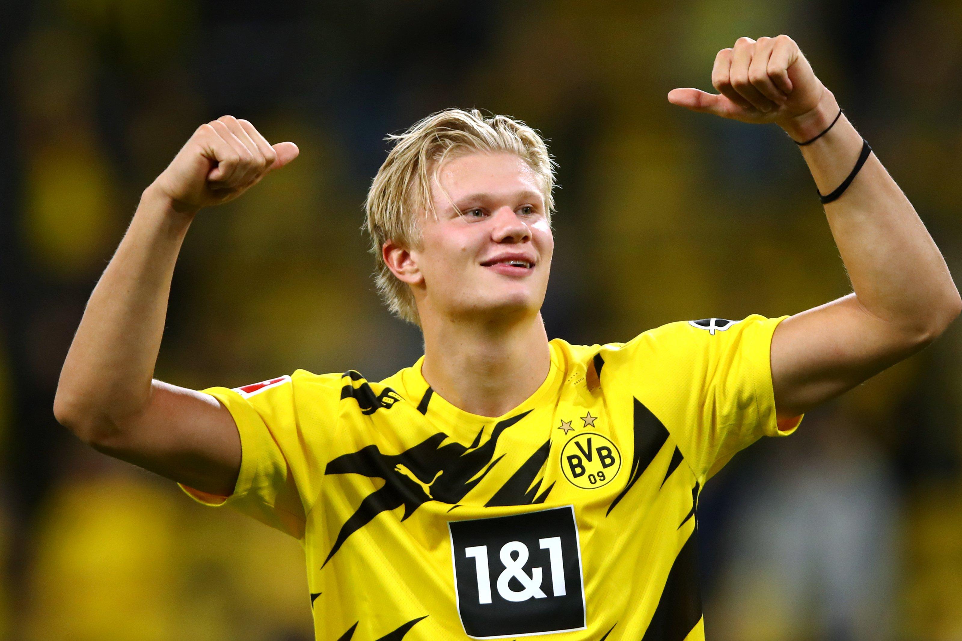 Гвардиола назвал Холанда главной трансферной целью «Сити»