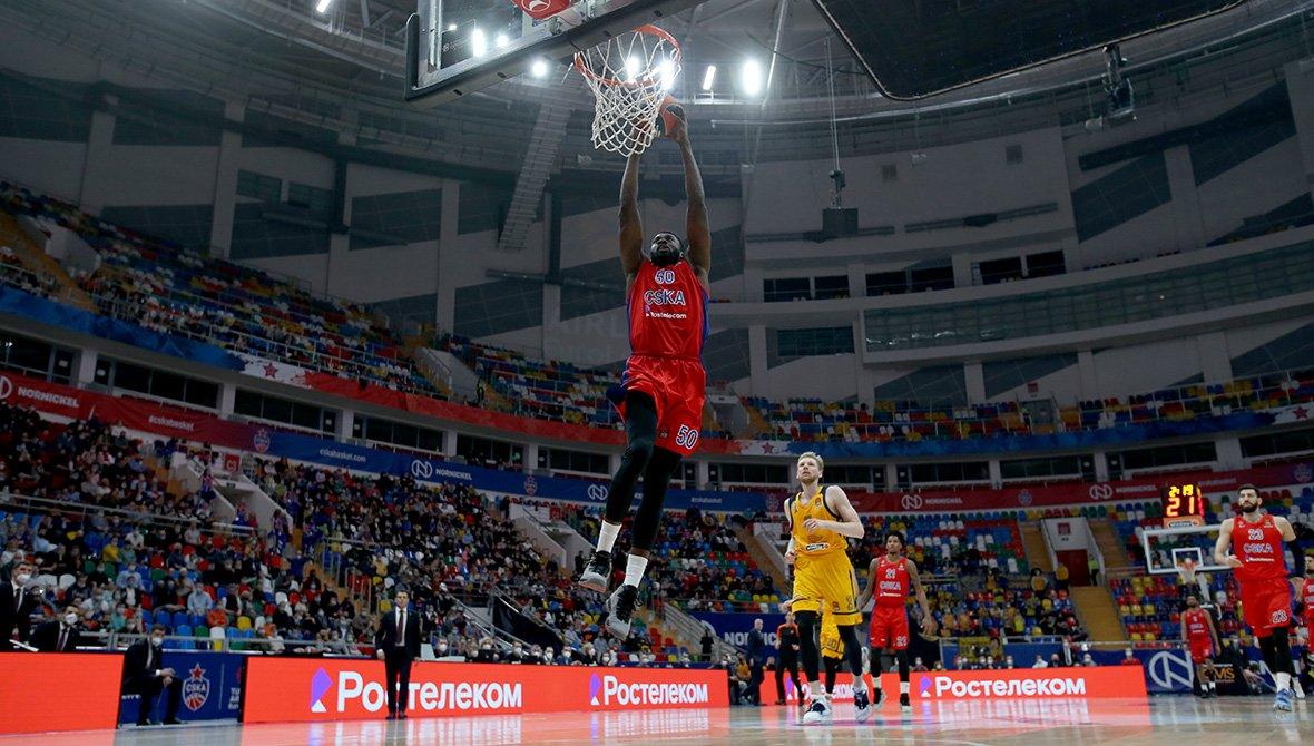 ЦСКА и «Зенит» одержали победы в матчах Евролиги