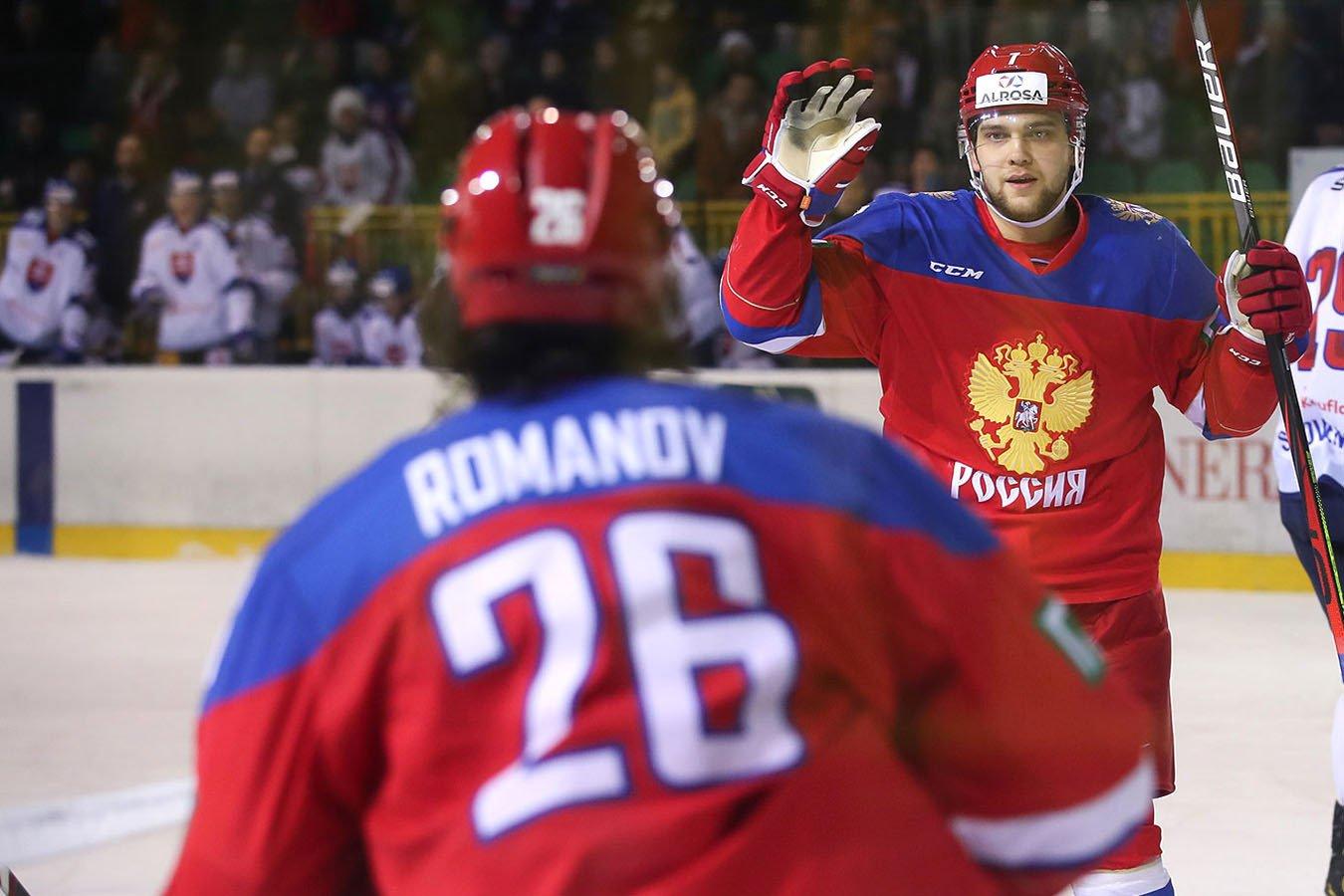Стал известен состав сборной России на матч Еврочелленджа против Белоруссии