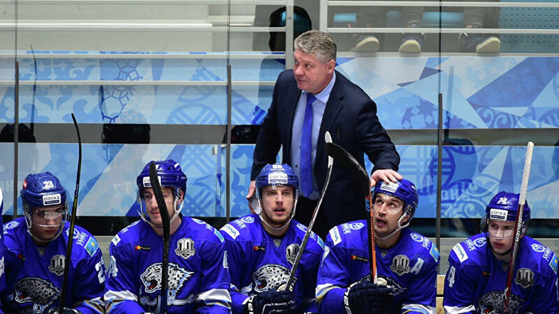 Тренер «Барыса» Михайлис будет работать со сборной Казахстана на чемпионате мира