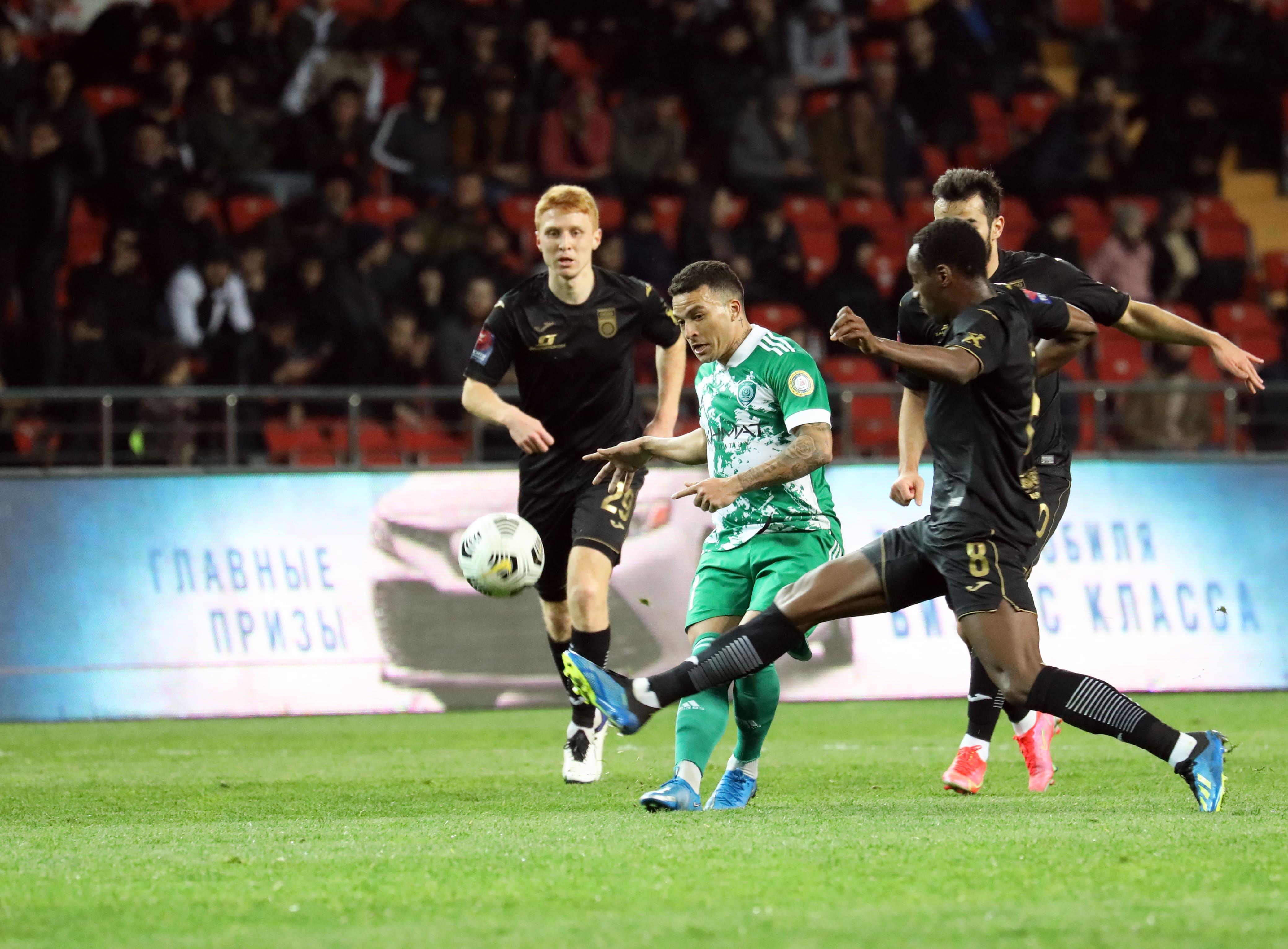 «Уфа» может обратиться в ЭСК из-за неназначенного пенальти в матче с «Ахматом»