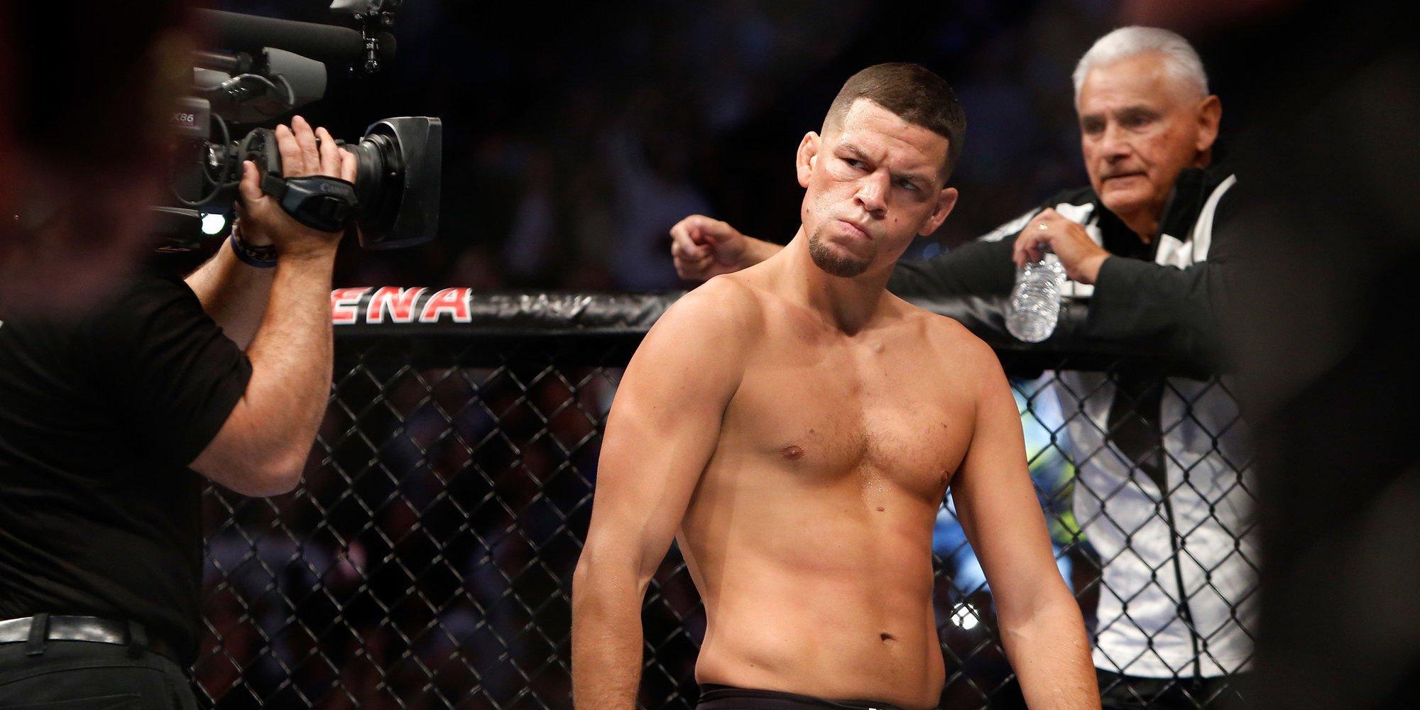 Нэйт Диас травмировался накануне UFC 262, бой американца против Эдвардса отменен
