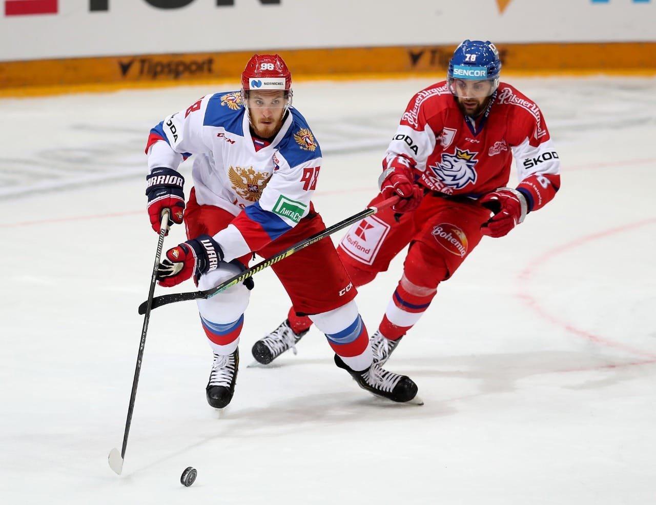 Россия – Чехия: непростой старт на чемпионате мира