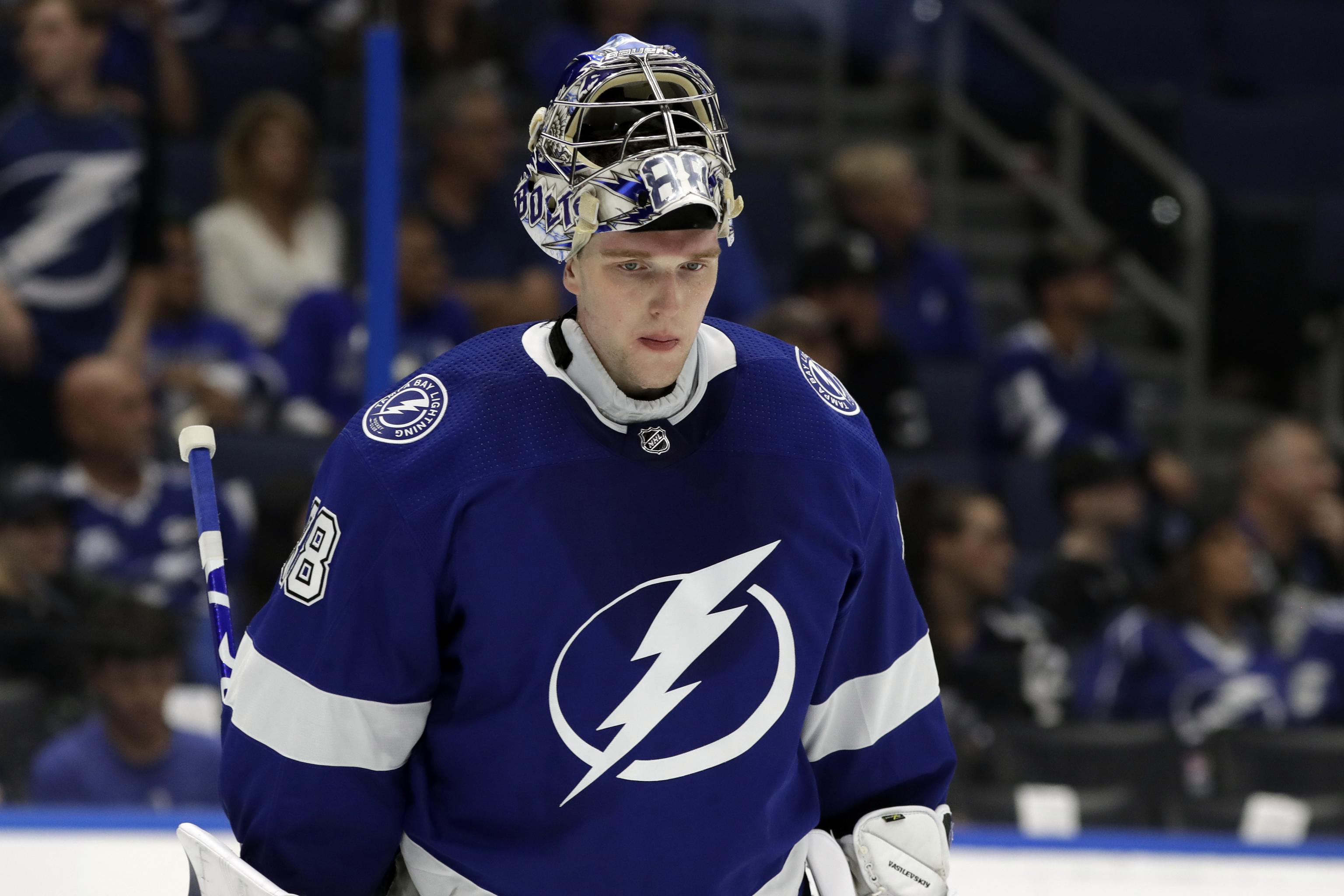 Василевский в четвертый раз кряду стал лидером по количеству побед в НХЛ, повторив достижение Бродо