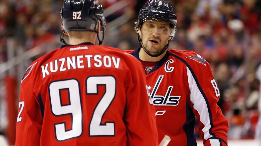 Овечкин, Самсонов и Кузнецов пропустят матч «Вашингтона» в НХЛ