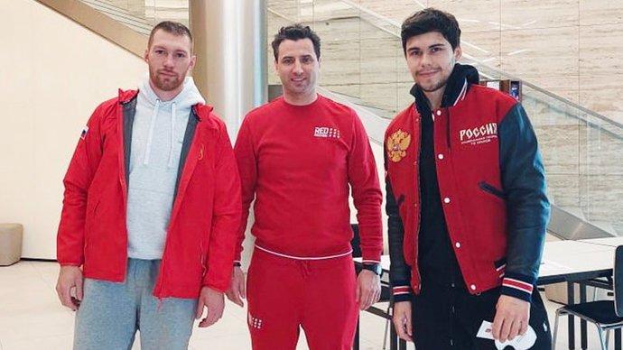 Зуб и Гавриков прибыли в расположение сборной России