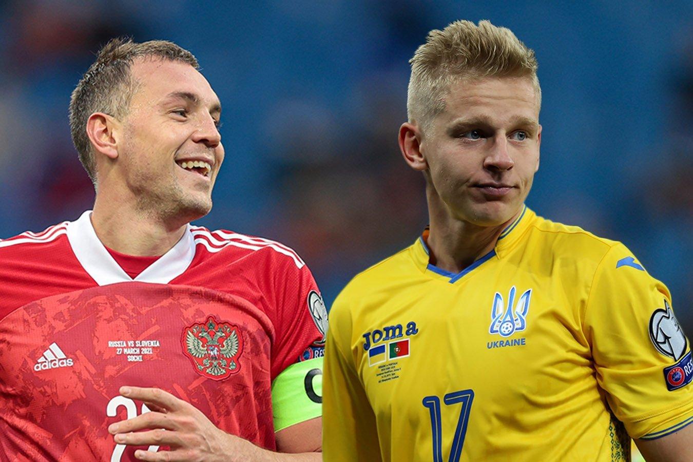 При каких раскладах Россия и Украина сыграют на Евро-2020