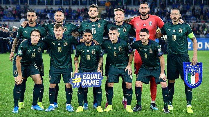 Италия в третий раз в истории сыграет в матче открытия Евро-2020