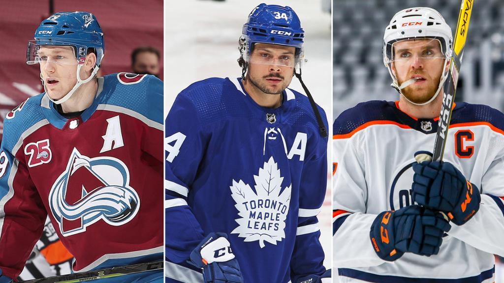 НХЛ назвала тройку номинантов на звание самого ценного игрока регулярного чемпионата