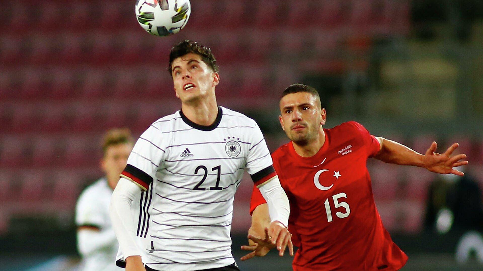 Кай Хаверц забил первый гол Германии на Евро-2020