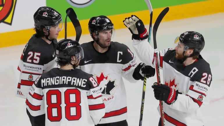 Могли не выйти из группы, обыграли Россию: как Канада шла к «золоту» ЧМ-2021