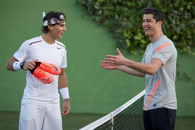 Мората сравнил Роналду с теннисистом Надалем