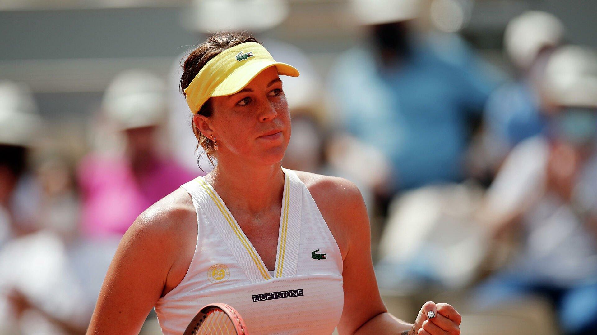 Павлюченкова впервые в карьере вышла в финал «Ролан Гаррос»