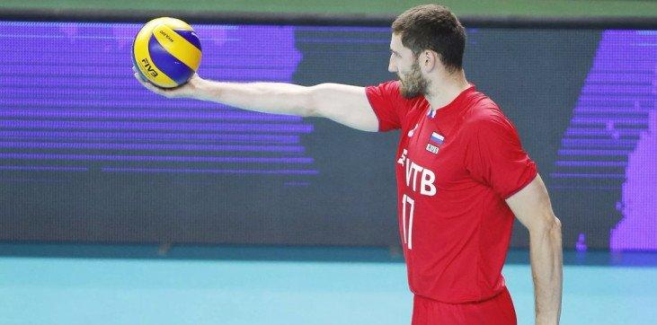 Российские волейболисты обыграли Канаду в Лиге наций